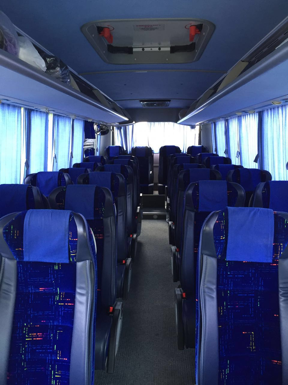 Inside Coach - Elbow Holyland Tours