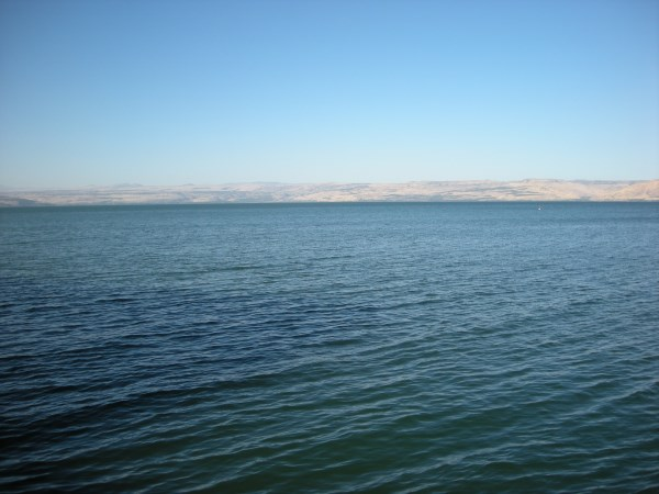 Sea of Galilee and Tiberius - Tour of the Holy Land