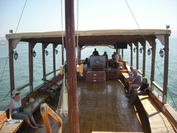 Sea of Galilee and Tiberius - Tour of Israel
