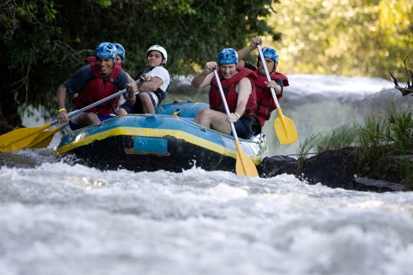 Holy Land Tour and Travel - Jordan River Rafting