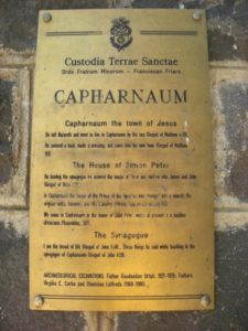 Visit Capernaum - Holy Land Tours