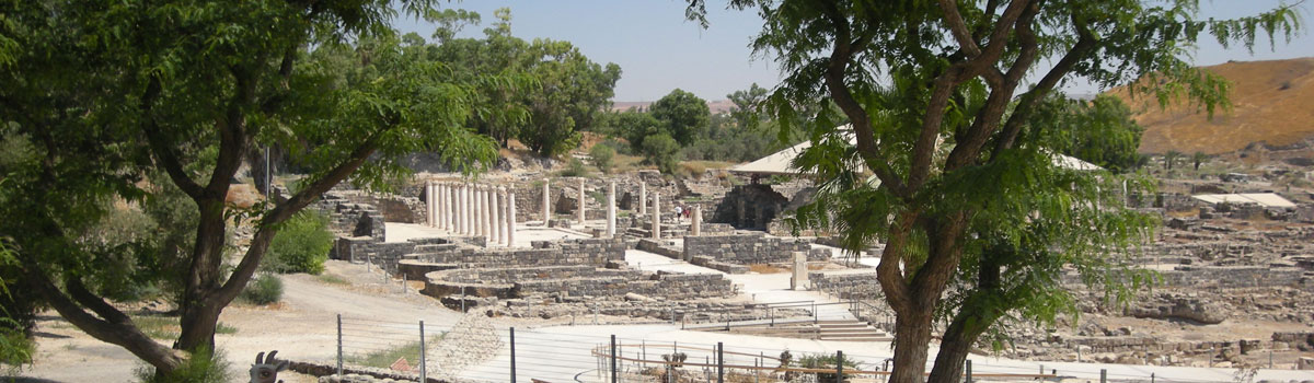 beit shean - Visit Beit She'an - Tours of Israel and the Holy Land