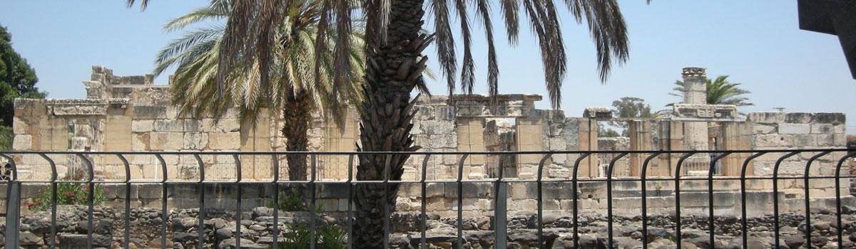 capernaum - Visit Capernaum - Holy Land Tours