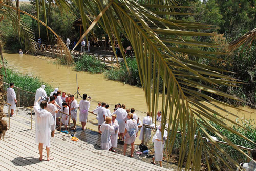 Jordan River Baptismal Site - Tours of the Holy Land